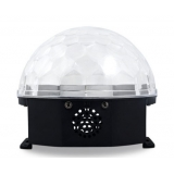 Voice Activated LED Crystal Ball DJ Lighting