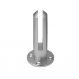 Frameless Glass Spigots Fencing Mount Round