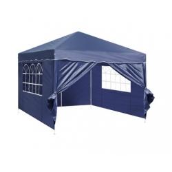 3m x 3m Folding Garden Outdoor Gazebo Marquee-Blue