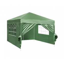 3m x 3m Folding Garden Outdoor Gazebo Marquee-Green