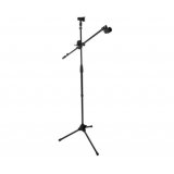 Microphone Mic Stand Boom Stage Tripod Clip 0.8 to 1.8M