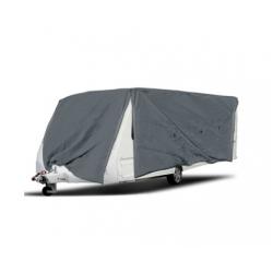 Heavy Duty 4 Side Open Caravan Campervan Cover Zips 14- 16 FT