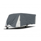 Heavy Duty 4 Side Open Caravan Campervan Cover Zips 22- 24 FT