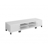 TV Stand Entertainment Unit Lowline Cabinet Drawer 190cm White