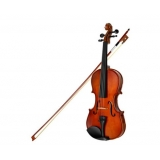 Wooden 4/4 Violin w/ Carry Case