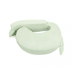 Baby Breast Feeding Support Memory Foam Pillow with Zip Cover Green