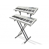 Top Grade Double Type X Piano Keyboard Stand 2 Tier
