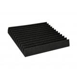 Wedge Acoustic Foam Black